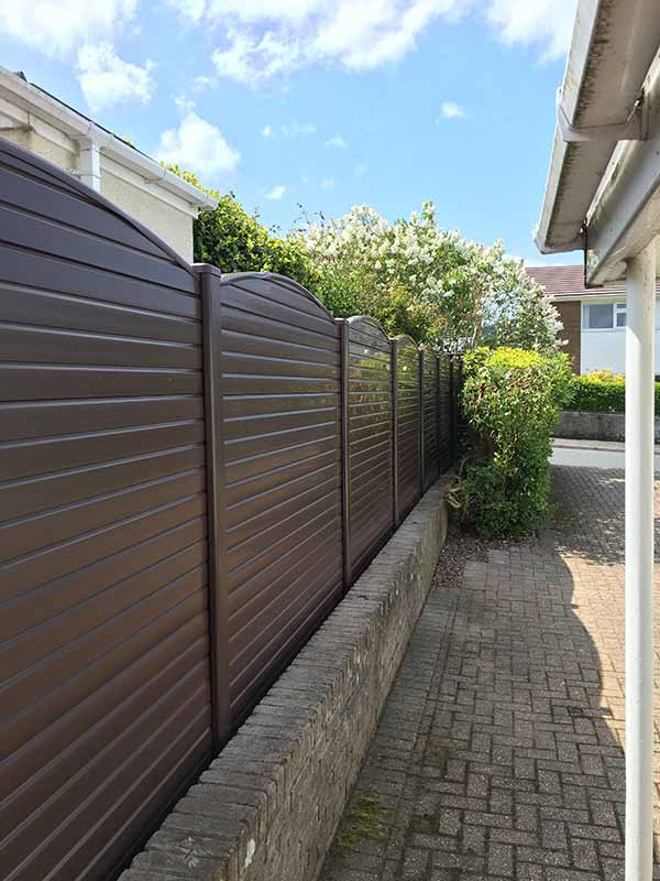 uPVC Fencing Panels