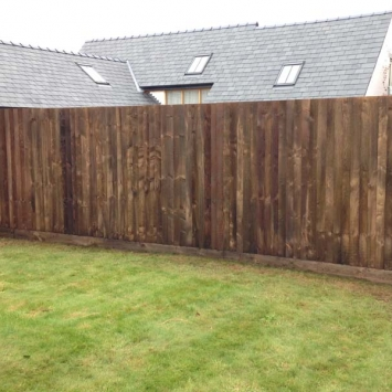 Feather Edge Fencing